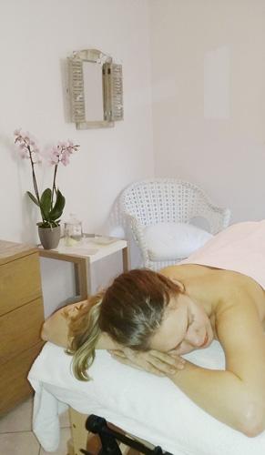 salon de massages à Alès - Laurence Belle
